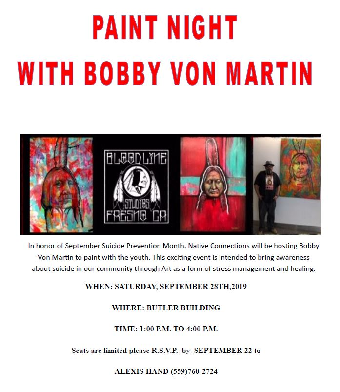 Paint Night with Bobby Von Martin @ Butler Building