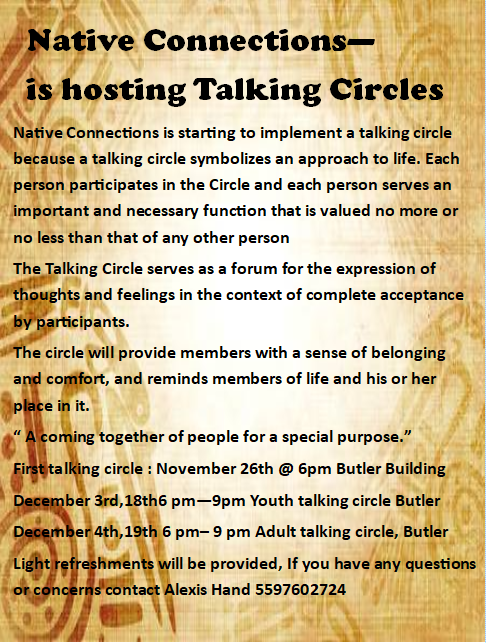 Talking Circles @ Butler Building