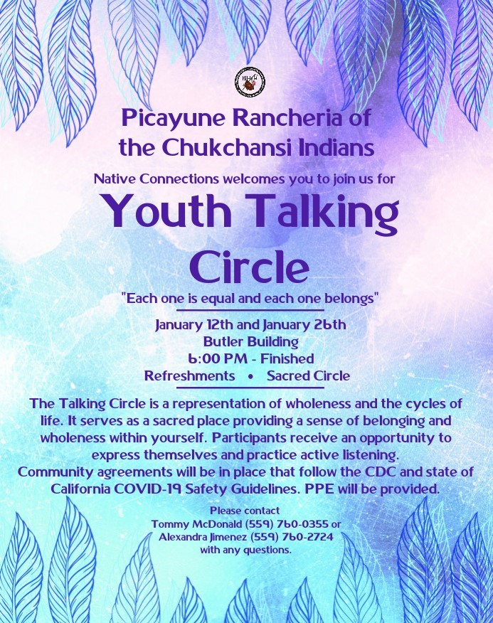 Youth Talking Circle @ Butler Building