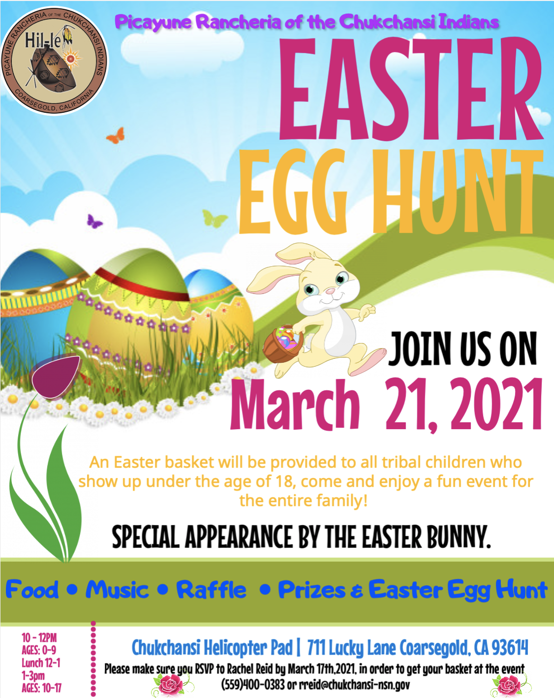 PRCI Easter Egg Hunt @ Chukchansi Helicopter Pad