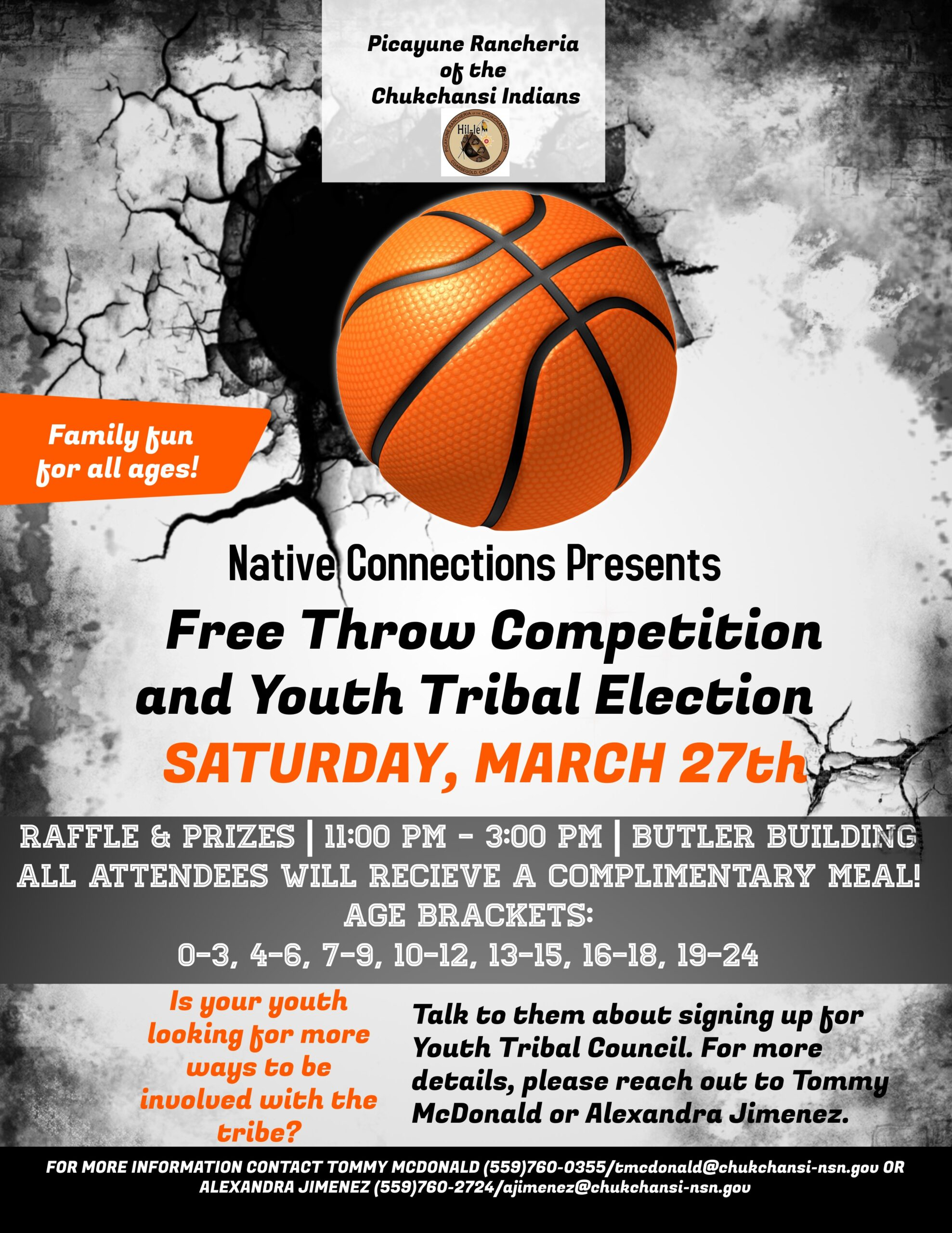 Free Throw Competitition @ Butler Building