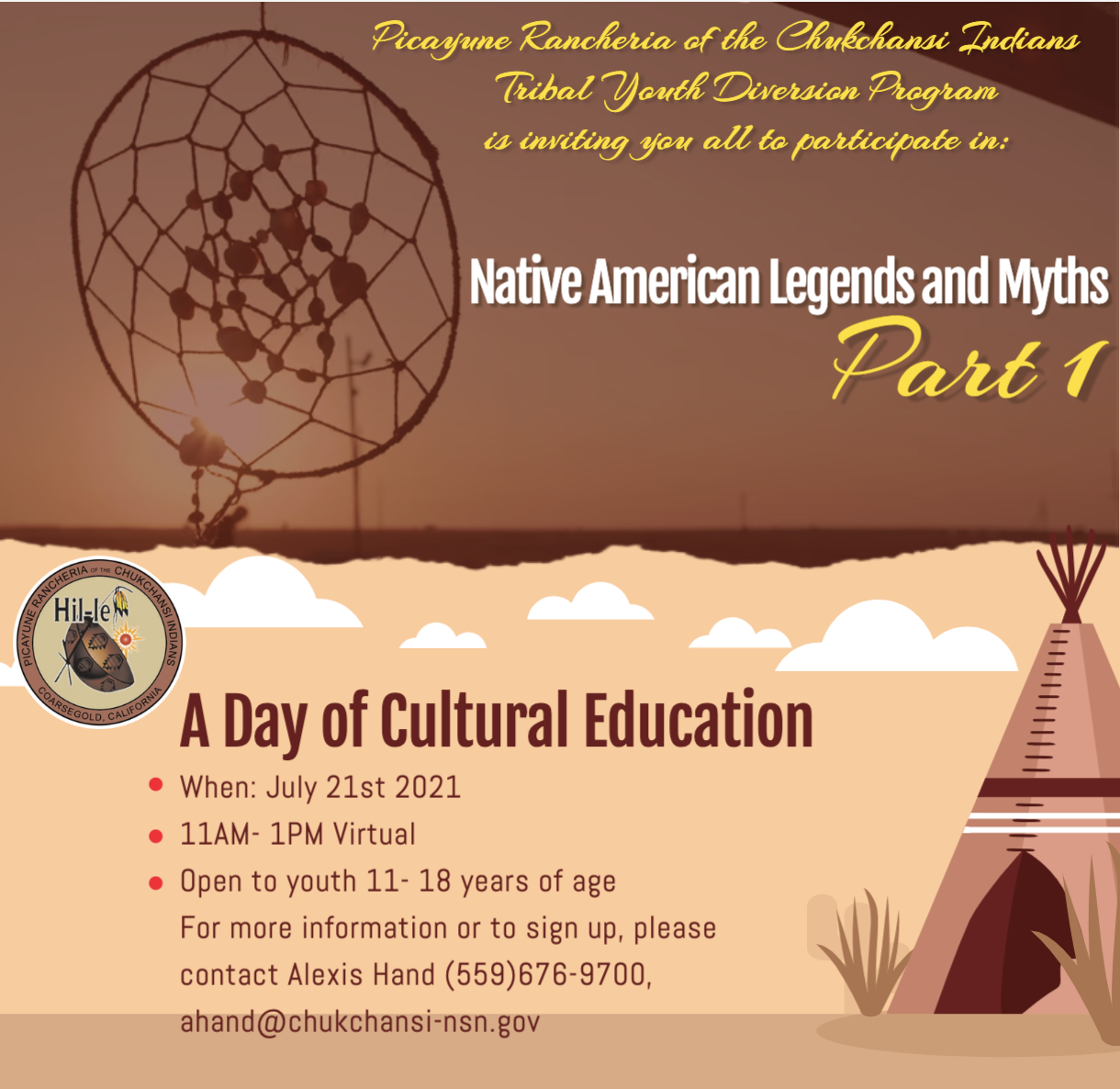 A Day of Cultural Education @ online